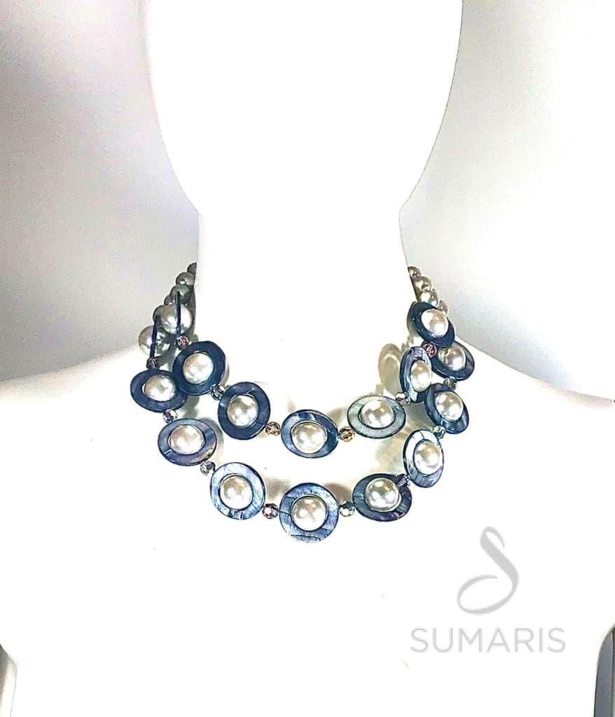 SATURNS MOONS Necklace