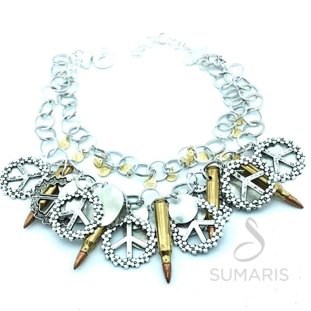 SCARY TIMES OOAK STATEMENT NECKLACE