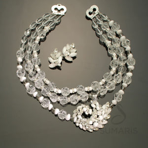 Snow and Ice Necklace Sumaris hidden Necklaces Purple Sumaris Snow and Ice Snow and Ice
