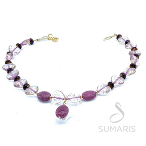 SWEET FUCHSIA LIMITED EDITION NECKLACE