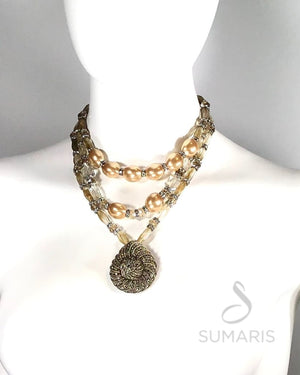 VICTORIA - OOAK STATEMENT NECKLACE Necklace