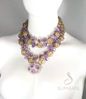 VIENNA - OOAK STATEMENT NECKLACE Necklace