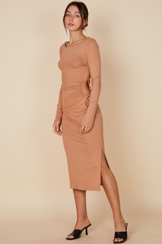 the nessa midi dress