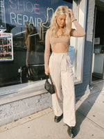 Memphis asymmetrical pants