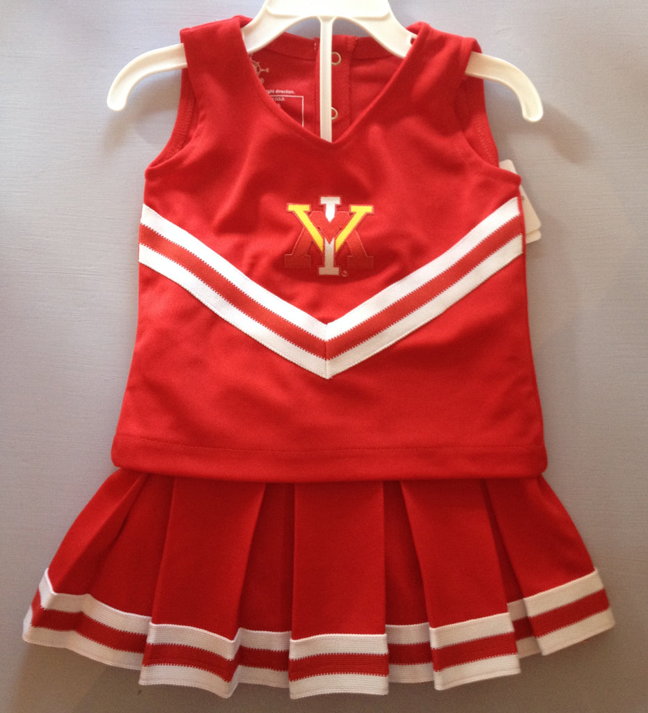 VMI 3 Piece Cheerleader Outfit -  - Baby's First Gifts