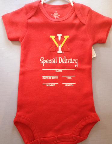 VMI Bodysuit Special Delivery - Baby's First Gifts