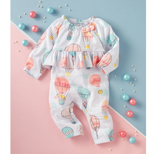 Mud Pie Hot Air Balloon Sleeper/Romper