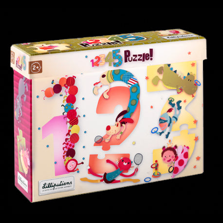 HABA 123 Numbers Puzzle from Lilliputiens
