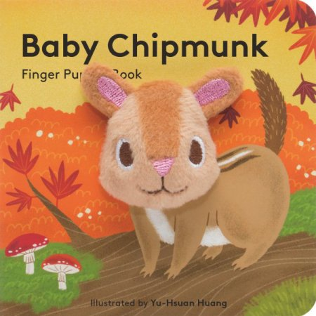 Chronicle Baby Baby Chipmunk Finger Puppet Book