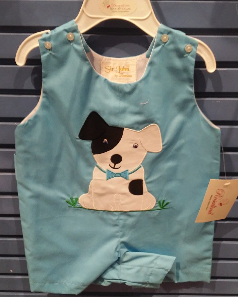Rosalina Baby Dog Applique Romper