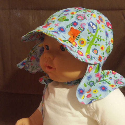 Courtney's Creations Handmade Flap Sun Hat HV053119A