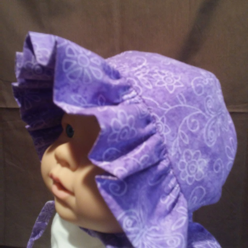 Courtney's Creations Sun Hat with Ruffle Brim 051619Z