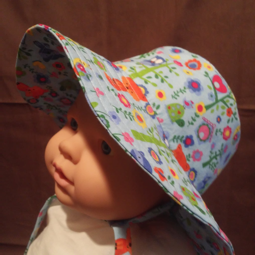 Courtney's Creations Handmade Bucket Sun Hat 051619L