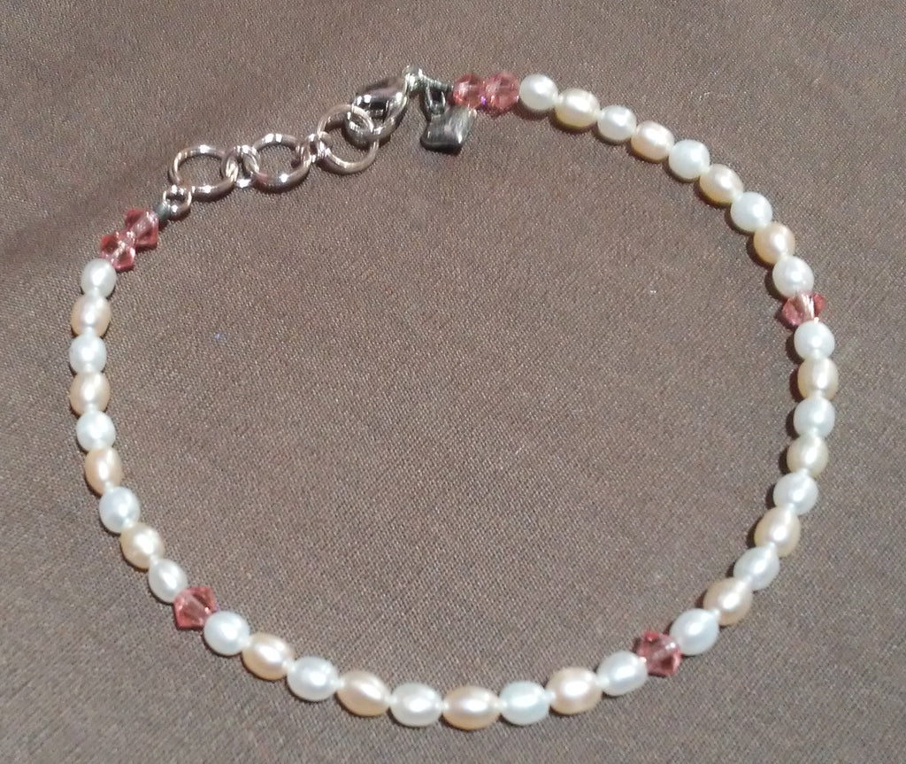 Coastal Skies Creations June Birthstone Adult Bracelet 041419J