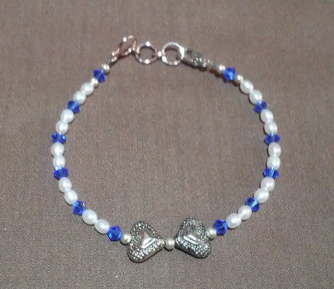 Coastal Skies Creations September Birthstone Adult Bracelet 041419M