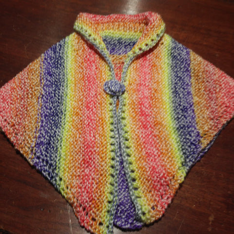 Hand Knit by Denise Cape/Poncho