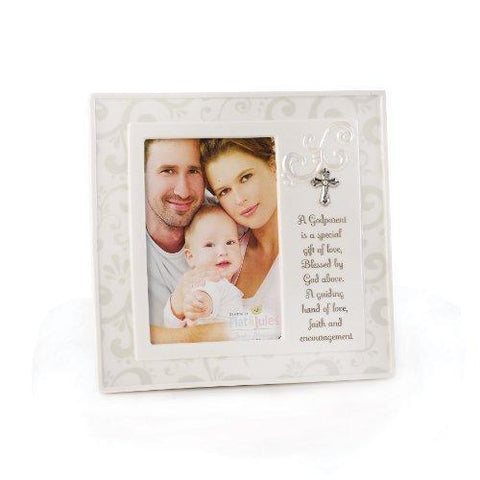 Nat & Jules Tender Blessings - Godparent Frame