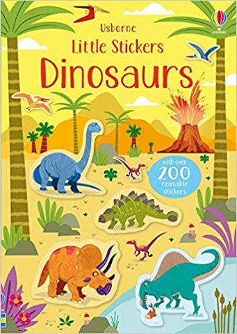 Usborne Little Stickers Dinosaurs