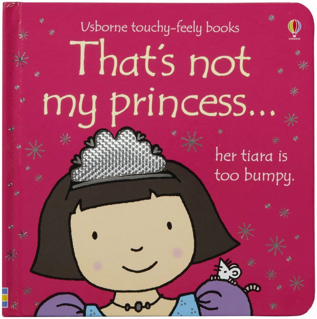 Usborne Touchy-Feely Books That's Not My Princess