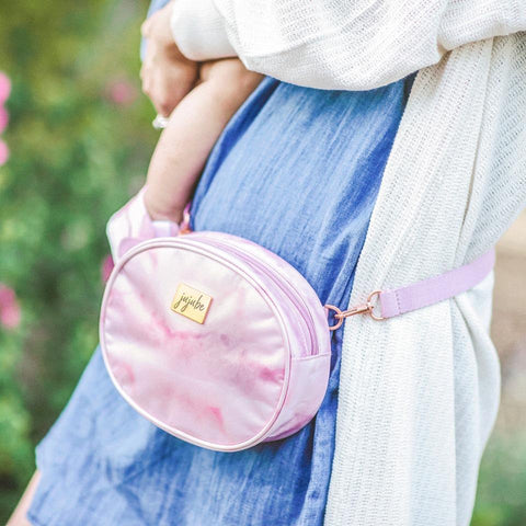 JuJuBe Freedom 2-in-1 Belt Bag - Rose Quartz