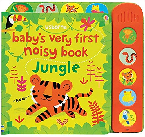 Usborne Baby's Very First Noisy Book Jungle