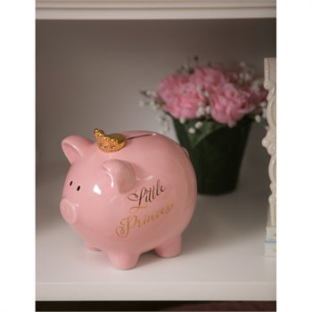 Evergreen Little Princess Piggy Bank