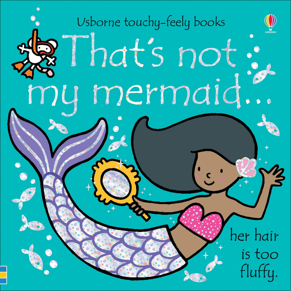 Usborne Touchy-Feely Books That's Not My Mermaid