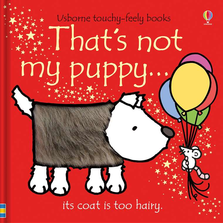Usborne Touchy-Feely Books That's Not My Puppy
