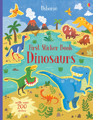 Usborne First Sticker Book Dinosaurs