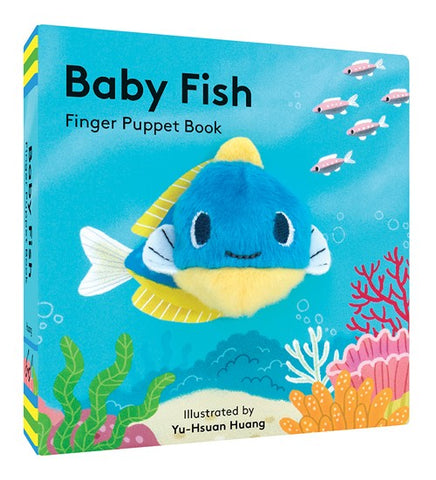 Chronicle Baby Fish Finger Puppet Book