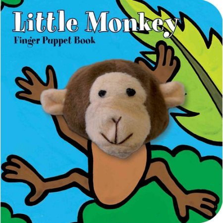 Chronicle Little Monkey Finger Puppet Book