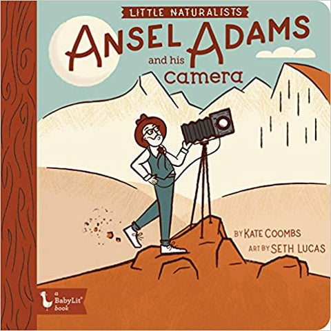 BabyLit The Naturalists: Ansel Adams