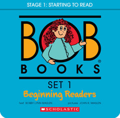 Scholastic Bob Books: Set 1 Beginning Readers