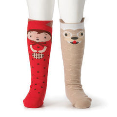 StoryTime Socks - Red Riding Hood & Wolf - Baby's First Gifts - 5