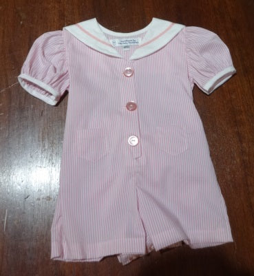 Courtney's Creations Sailor Collar Romper 051519J