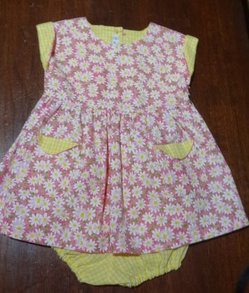 Courtney's Creations Dress with Bloomers 051719Y