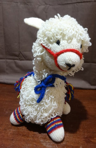 Hand Knit by Denise Alpaca Plush 051619A