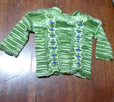 Hand Knit by Denise Cotton Sweater 052119H