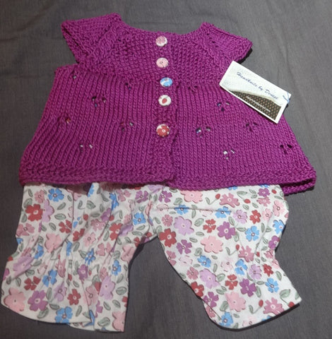 Hand Knit by Denise Summer Outfit - HS080819L