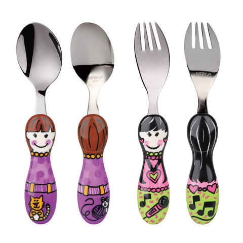 Eat 4 Fun Utensils- Fork and Spoon