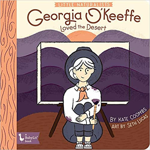 BabyLit The Naturalists: Georgia O'Keeffe