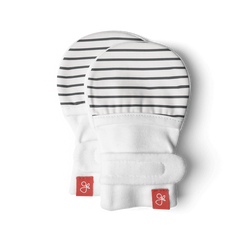goumikids Classic Mitts - Gray Stripe