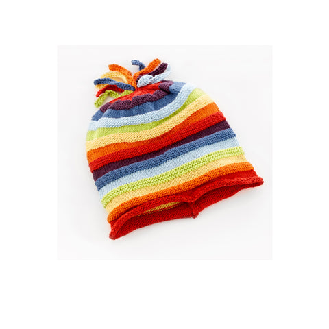Pebble Rainbow Hat - 1-2 Years