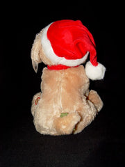 Bearington Santa's Little Buddy Musical Animated Holiday Toy