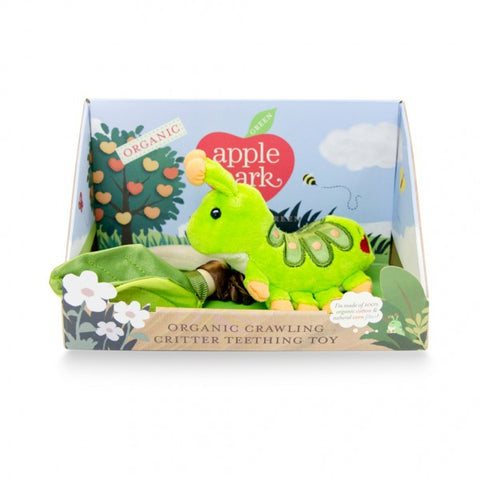 Apple Park Teething Toy Crawling Critter Caterpillar