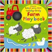 Usborne Baby's Very First Touchy-Feely Farm Playbook