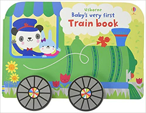 Usborne Baby's Very First Train Book