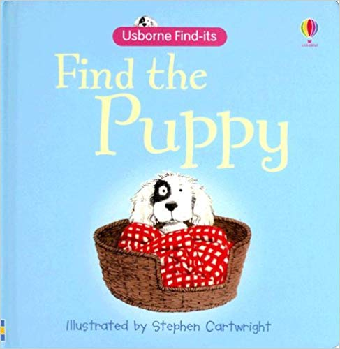 Usborne Find-its Find the Puppy