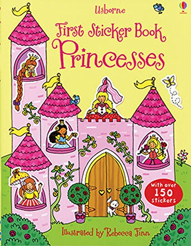 Usborne First Sticker Book Princess