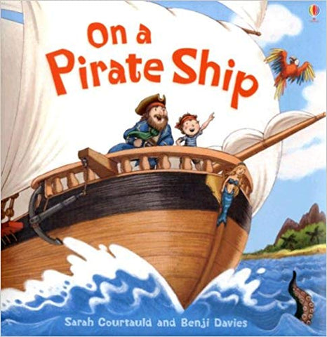 Usborne On A Pirate Ship (Picture Books)